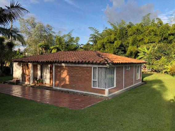 Casa Campestre En Alquiler, Vía San Antonio La Cej