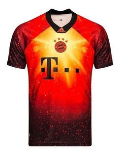 Camisa adidas Bayern De Munique Ea Sports 2018/2019