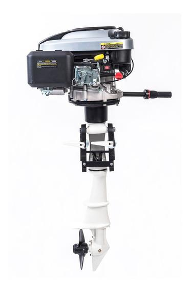 Motor Barco 6.5 Cv 4t Toyama + Rabeta Vertical Popa