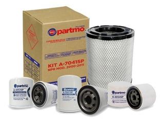 Kit Filtración Partmo Chevrolet / Isuzu Npr Modelo 2000-2011