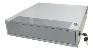 Caja Para Dinero Gaveta Registradora 5 Compartimientos Divisiones Con Secreter