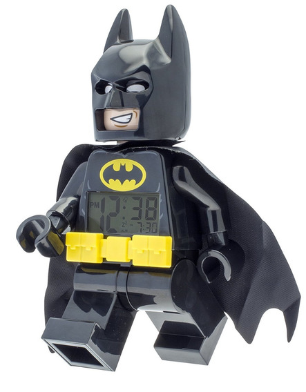 Reloj Alarma Lego Batman Movie Despertador Dark Knight