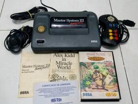 Master System Iii Completo Com 2 Jogos