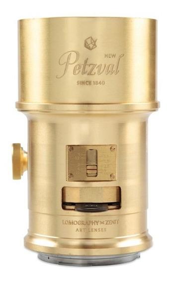 Lente Objetiva Lomography Petzval 85mm F2.2 Art Para Canon