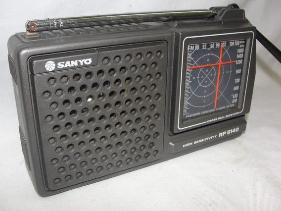 Antigo Radio Sanyo Rp 5140 Am E Fm Funciona Perfeito