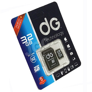 Memoria Micro Sd Con Adaptador Sd 32gb Clase 10 Dg Tech