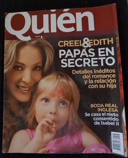 Creel Y Edith , Sex & The City Revista Quién 2008