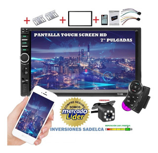 Reproductor De Pantalla Para Carro, Camara, Bluetooth, Usb