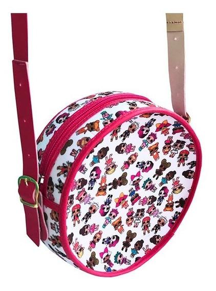 Bolsa Redonda Lol Luxo Pink Infantil