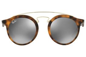 7d18de0da4 Óculos De Sol Ray Ban Gatsby Redondo Rb4256 Preto Original - Óculos ...