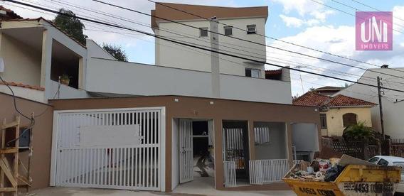 Sobrado Residencial À Venda, Vila Curuçá, Santo André. - So0495