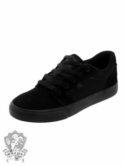 Tênis Dc Anvil 2 La Black/black Dc