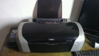 Impresora Epson Stylus C87 A Color Con Cartuchos
