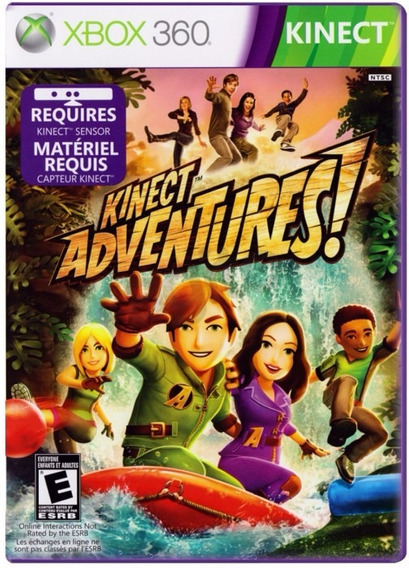 Kinect Adventure - Xbox 360 - Pt-br