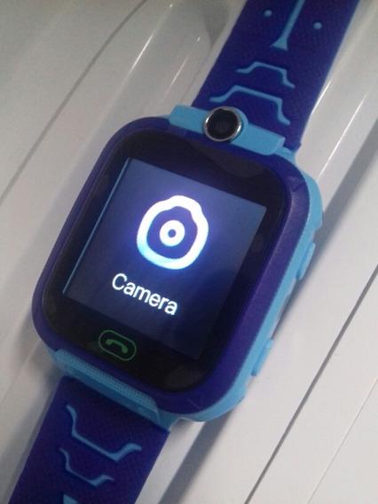 Relógio Infantil Q90 Localizador Gps E Botão Sos- Smartwa