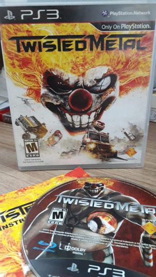 Twisted Metal Para Sony Ps3 Mídia Física Original Seminovo!