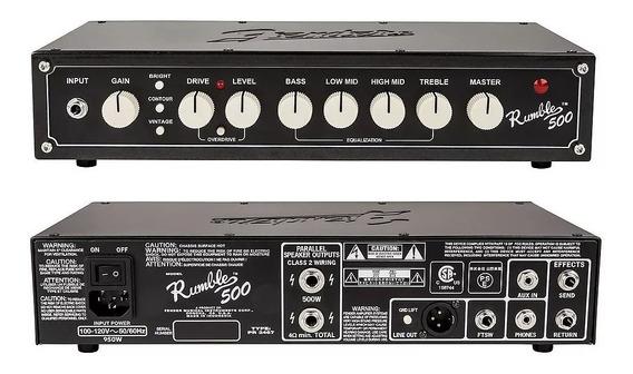 Cabeçote Contrabaixo Fender Rumble 500 Head V3