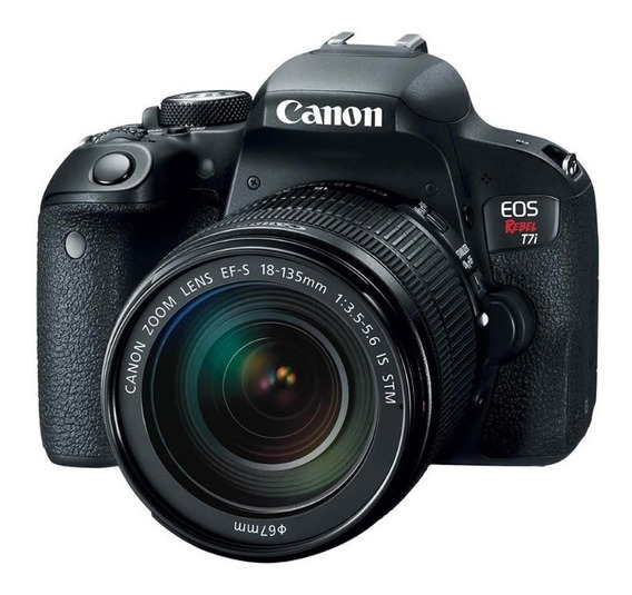 Canon Rebel T7i C/ 18-55mm Pronta Entrega