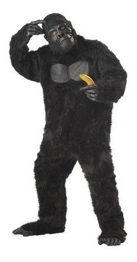 Disfraces De California Hombre Adulto-gorila, Negro, Co Est