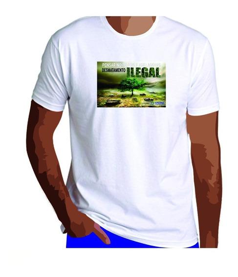 Camisa Personalizada Com Foto 13 Und