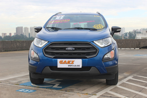 Ford Ecosport Freestyle Auto. 1.5 2018 Azul