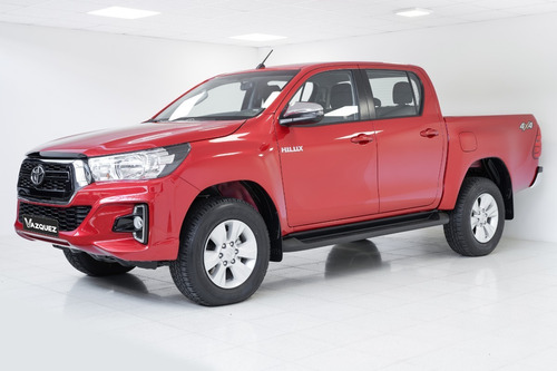 Toyota Hilux 4x4 Cd Srv 2.8 Tdi 6at 0km My19
