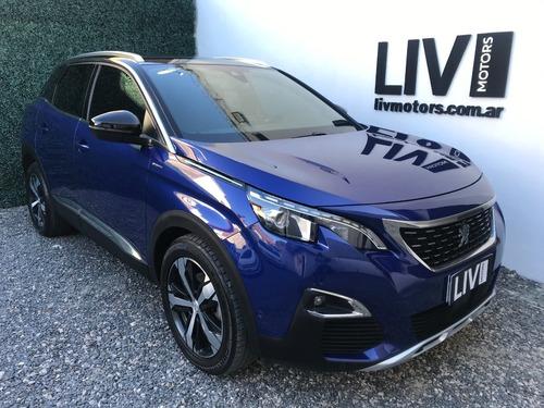 Peugeot 3008 Gt-line Thp Tiptronic Año 2018 - Liv Motors