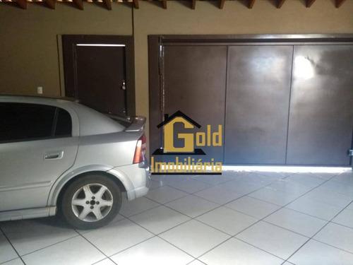 Casa Com 2 Dormitórios À Venda, 70 M² Por R$ 222.600 - Parque São Sebastião - Ribeirão Preto/sp - Ca0569