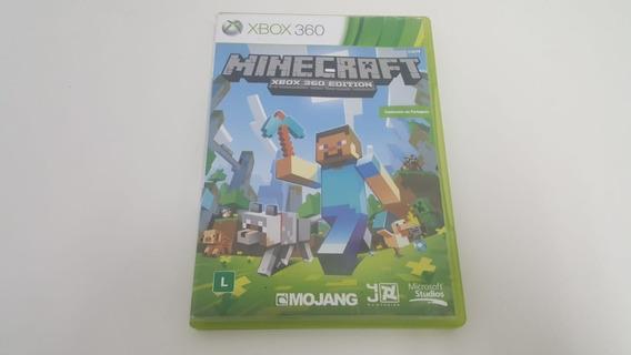 Jogo Minecraft - Xbox 360 - Original - Mídia Física