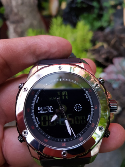 Hermoso Reloj Bulova Marine Star Analogo-digital