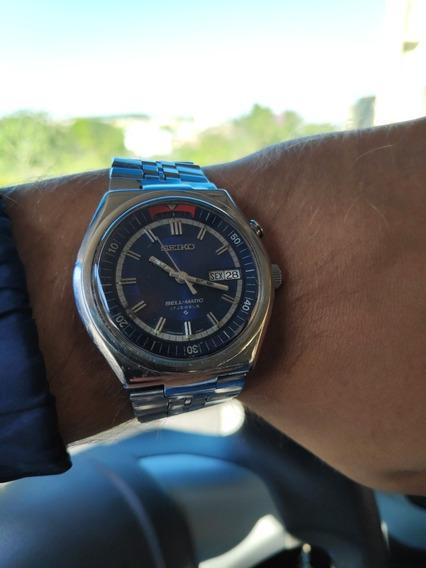 Relógio De Aço Grife Seiko Bell Matic Alarm 4006 6040 1978