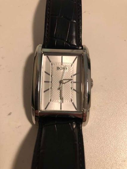 Relógio Hugo Boss Original (analógico Com Pulseira De Couro)
