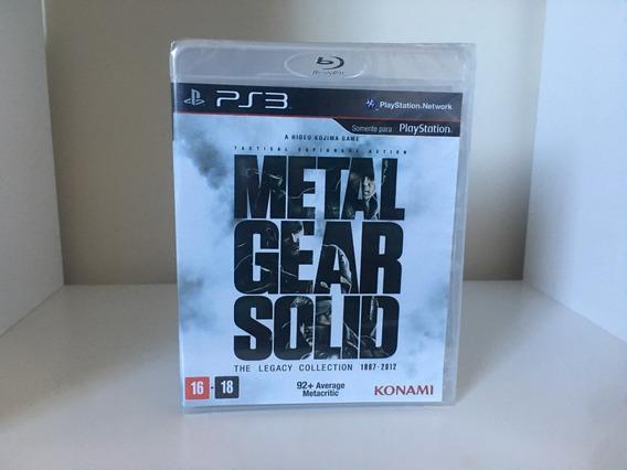 Metal Gear Solid Legacy Collection - Ps3 - Física - Lacrado