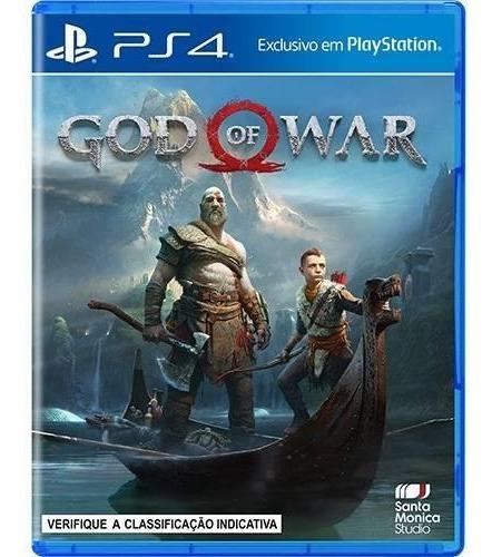 Jogo God Of War 4 Playstation 4 - Mídia Física