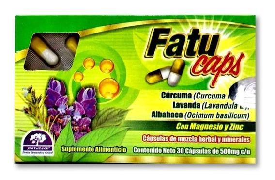 Fatu Caps 30 Caps De 500 Mg + Coaching Nutricional Gratis