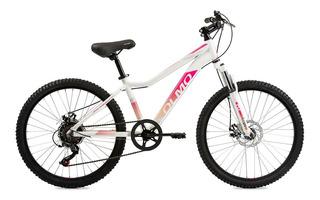 Bicicleta Olmo Rodado 24 Safari 240 Nena Mtb Alum 6 Vel