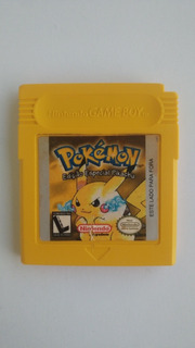 Gbc: Pokemon Yellow Americano Original!! Bateria Gravando!!