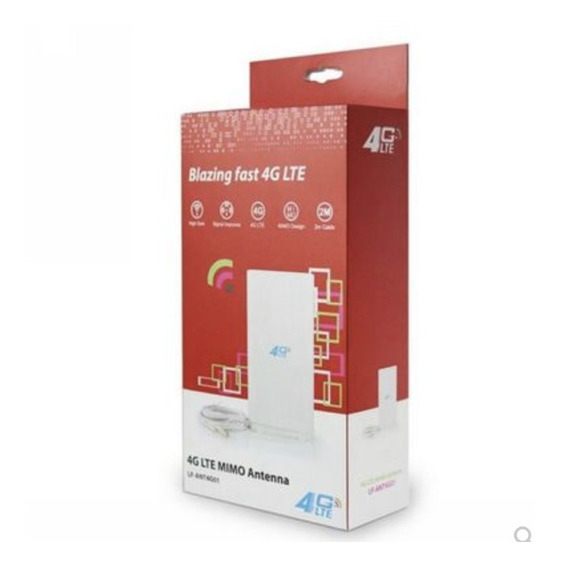 Antena Internet Bam 3g/4g Lte Doble Conector Ts9/sma/crc9