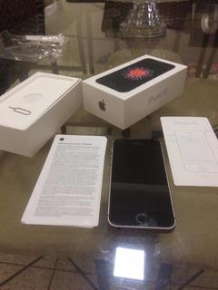 iPhone SE 32 Gb Space Gray Com Caixa E Acessórios Originais