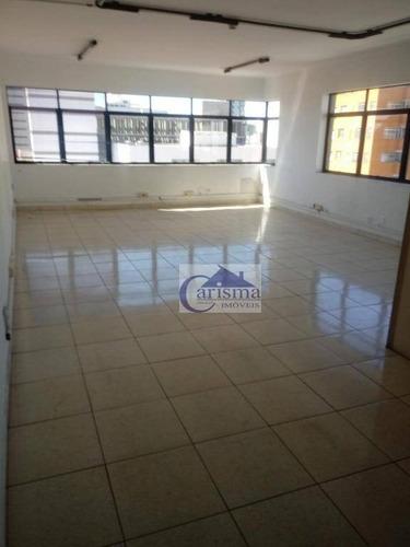 Sala Para Alugar, 50 M² Por R$ 900,00/mês - Centro - Santo André/sp - Sa0192