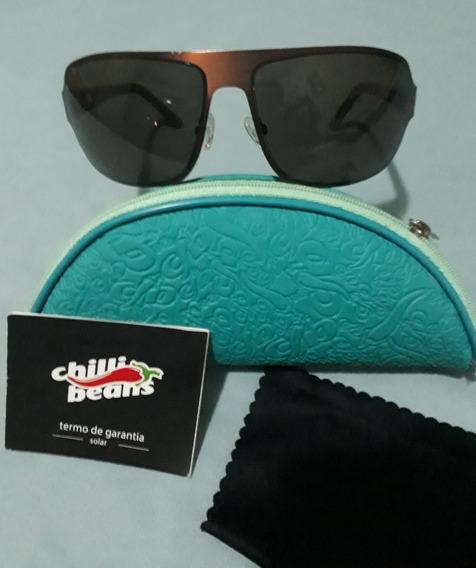 Oculos Chilli Beans Original Unissex Marron