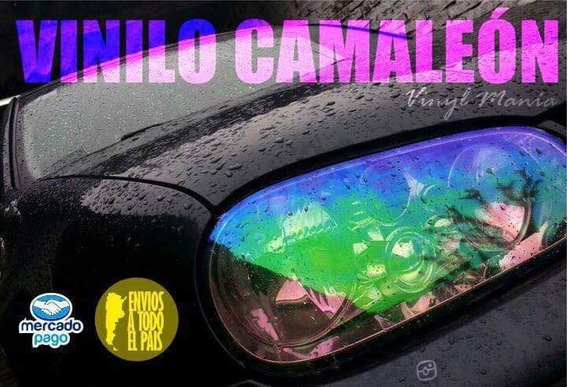 Vinilo Camaleon Tornasolado Para Vehiculo Medida 100x30cm