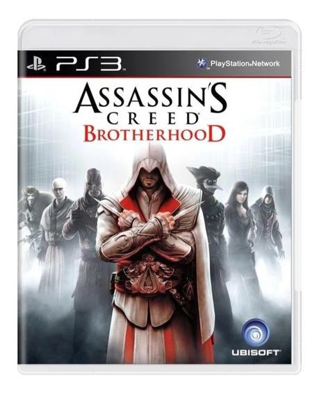 Assassins Creed Brotherhood Ps3 Mídia Física Original