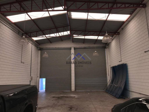 Imagem 1 de 20 de Galpão Para Alugar, 360 M² Por R$ 8.000,00/mês - Fazenda Grande - Jundiaí/sp - Ga0076