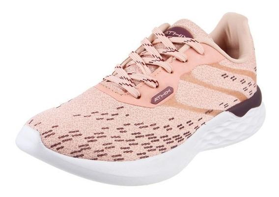 Athix Zapatillas Running Mujer Hopes Flexy Rosa Claro