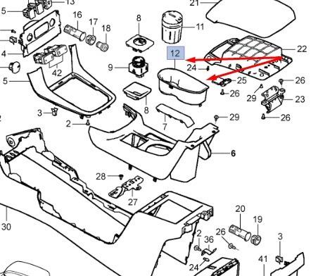Cinzeiro Console Dianteiro Assoalho Dianteiro Da Nova S10
