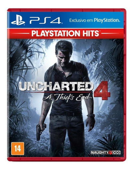 Uncharted 4 A Thief`s End Hits - Ps4