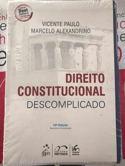 Livro Direito Constitucional Descomplicado