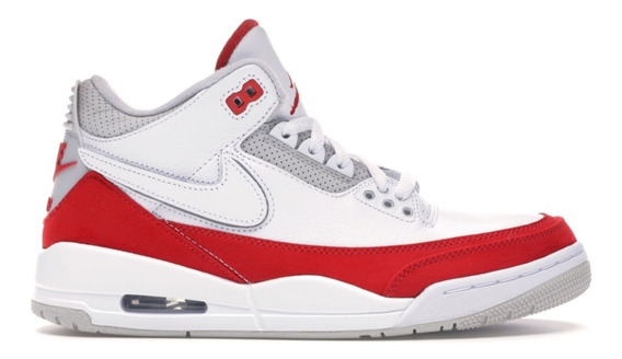 Tenis Nike Jordan 3 Retro Tinker White University Red