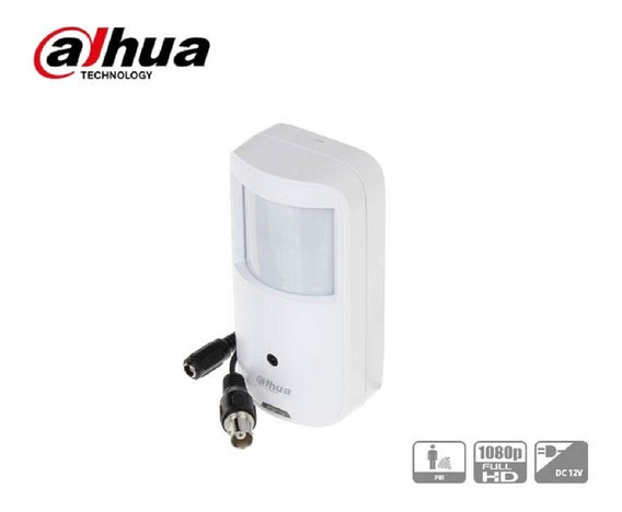 Camara De Seguridad Espia Dahua Hdcvi 2mp 2.8mm Pir Full Hd